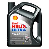 Масло моторное SHELL Helix Ultra SAE 5W-40 SM/CF (Канистра 4л)