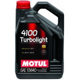 Масло моторное MOTUL 4100 TURBOLIGHT 10W-40 (Канистра 4л)
